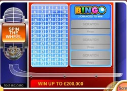 Bingo Scratch Card